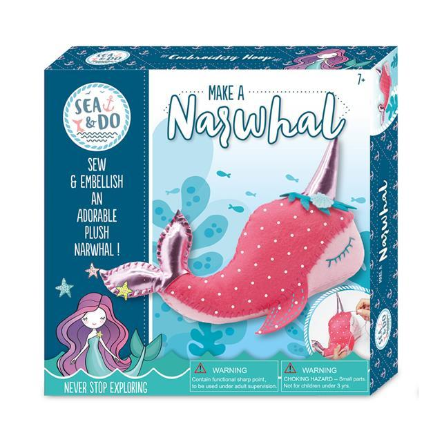 Sea & Do - Make a Narwhal