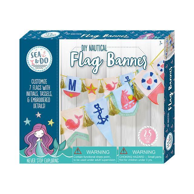 Sea & Do - Flag Banner Kit