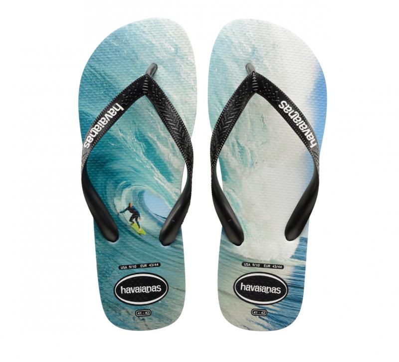 Havaianas Men's Photoprint Surf Flip Flops