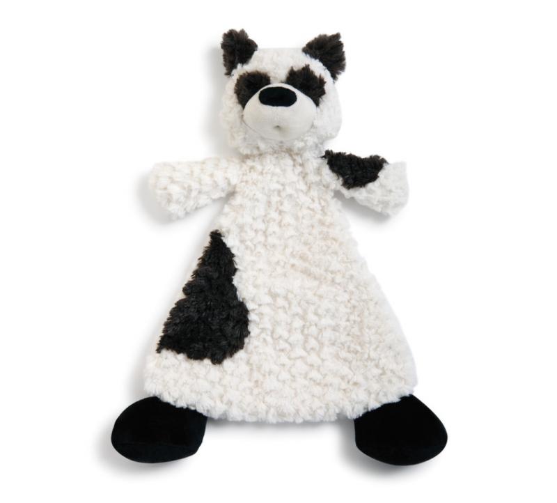 Demdaco Cozies Rattle Blankie - Palmer Panda