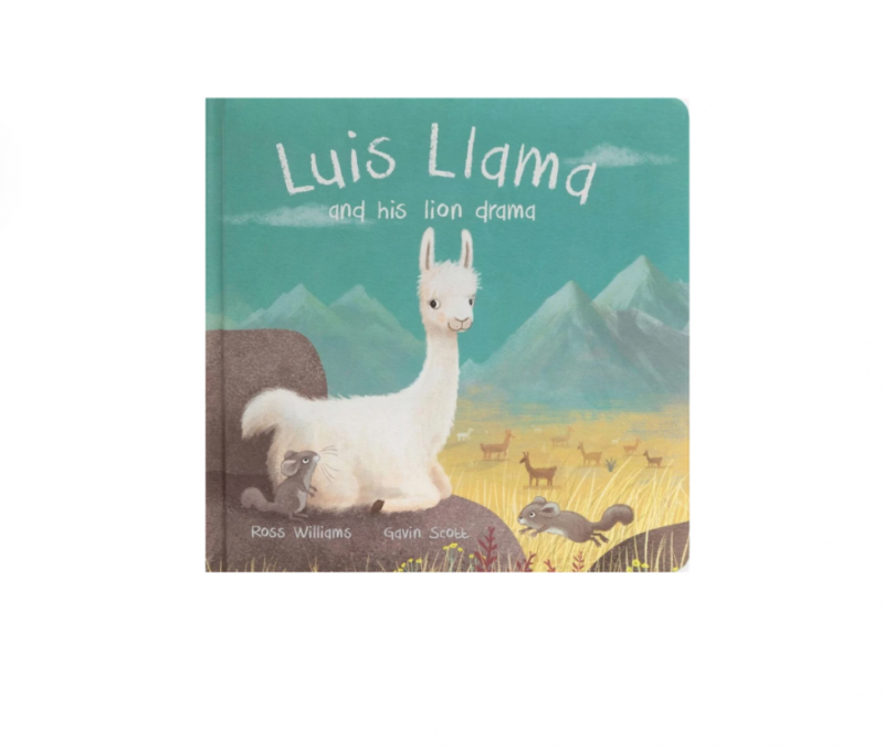 Luis Llama and His Liondrama Book