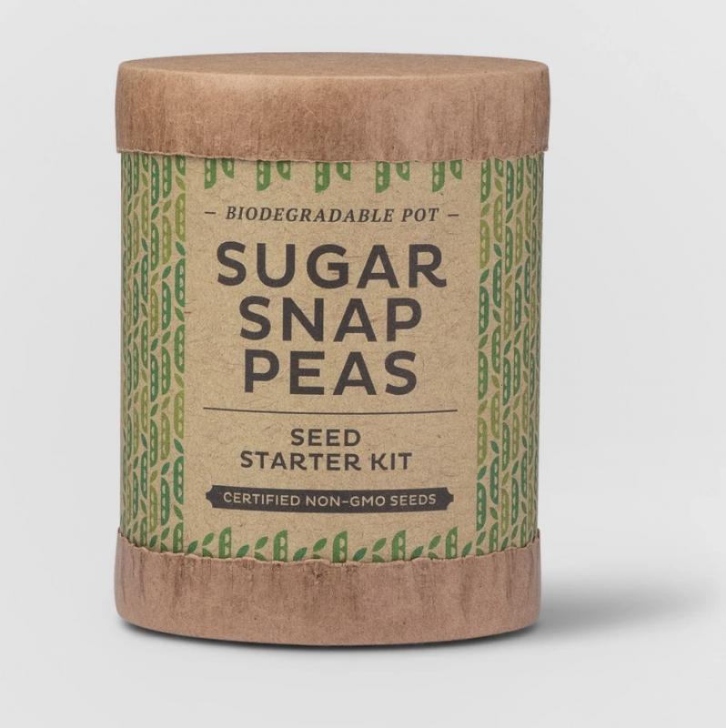 Sugar Snap Peas Seed Starter Kit