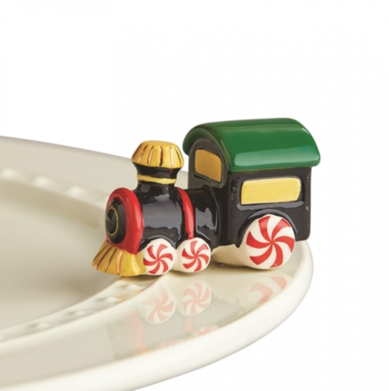 Nora Fleming Mini: Holiday Train