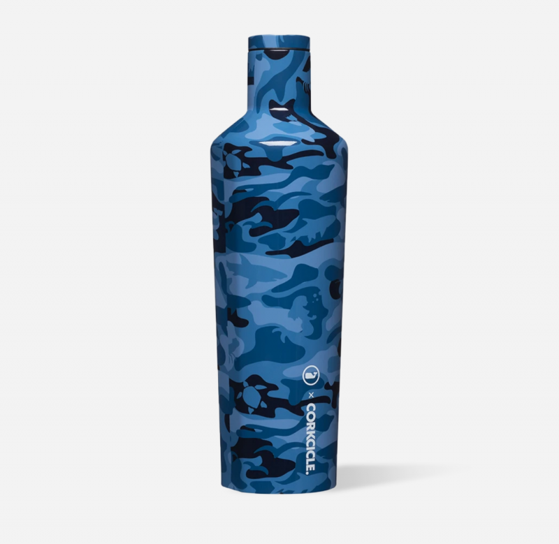 Corkcicle x Vineyard Vines Canteen - Blue Camo