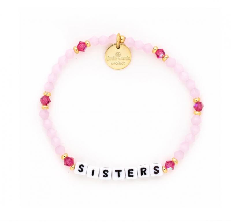 Little Words Project Bracelet - Sisters