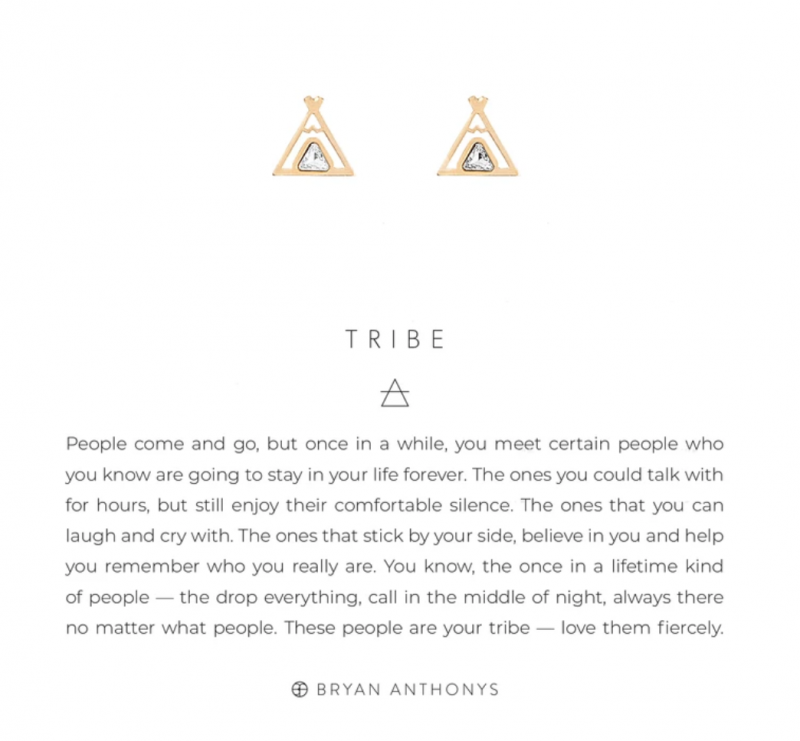 Bryan Anthonys Earrings - Tribe (Gold)