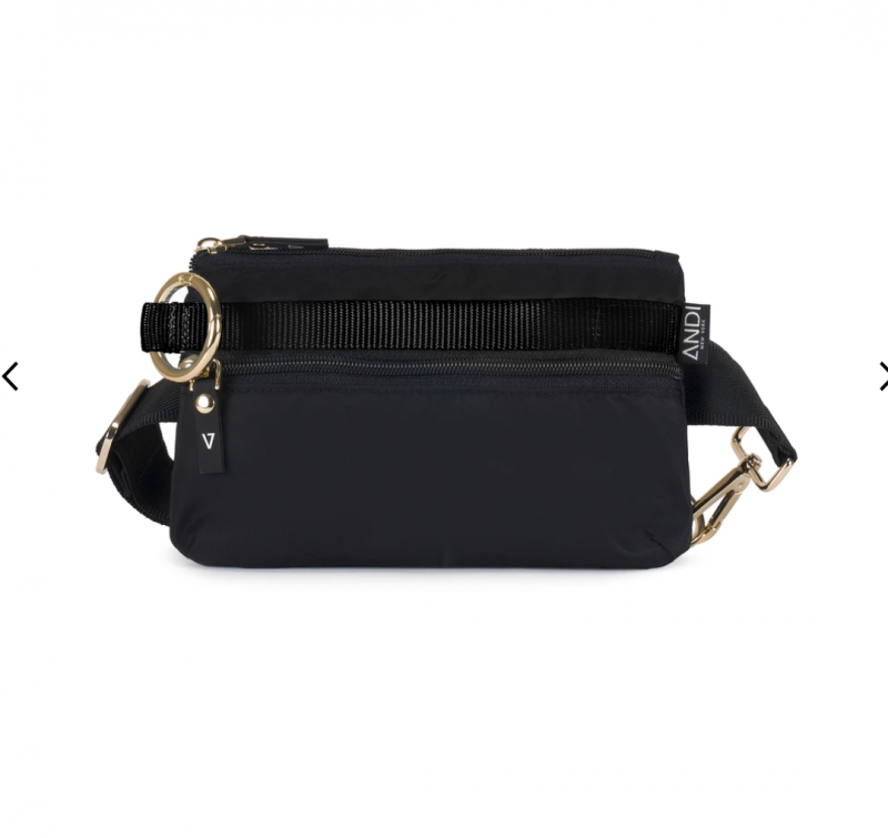ANDI Urban Clutch - Black Apple