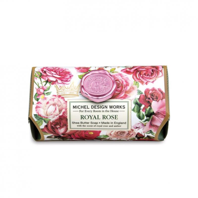 'Royal Rose' Shea Butter Soap