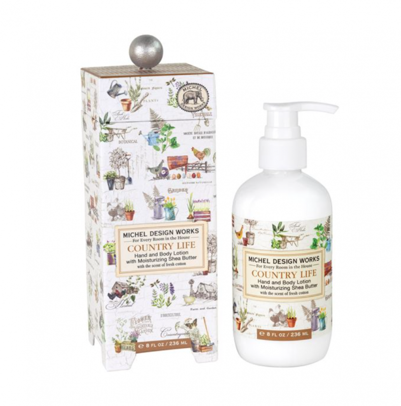 'Country Life' Hand and Body Lotion