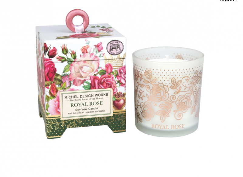 'Royal Rose' Soy Wax Candle