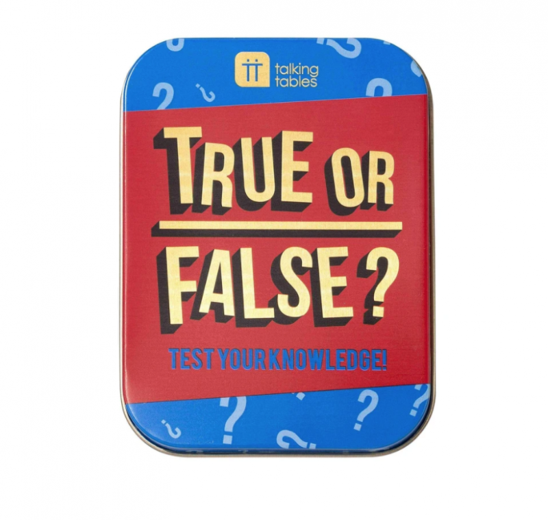 True of False - Tin Game