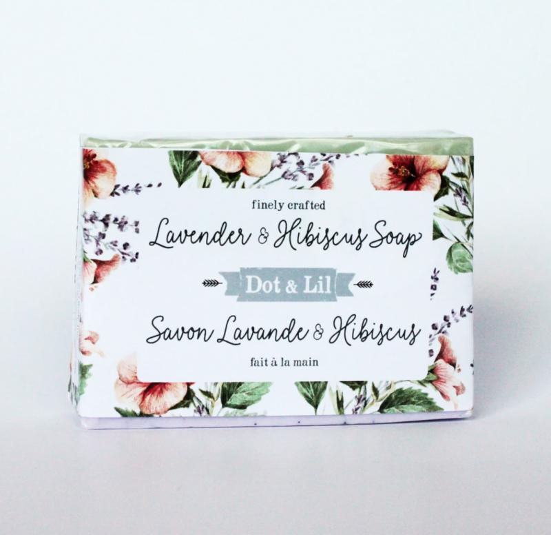 Lavender & Hibiscus Bar Soap