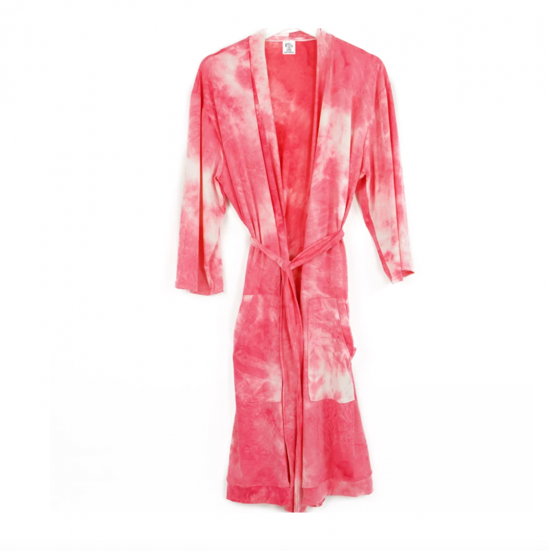 Dyes The Limit Lounge Robe - Pink