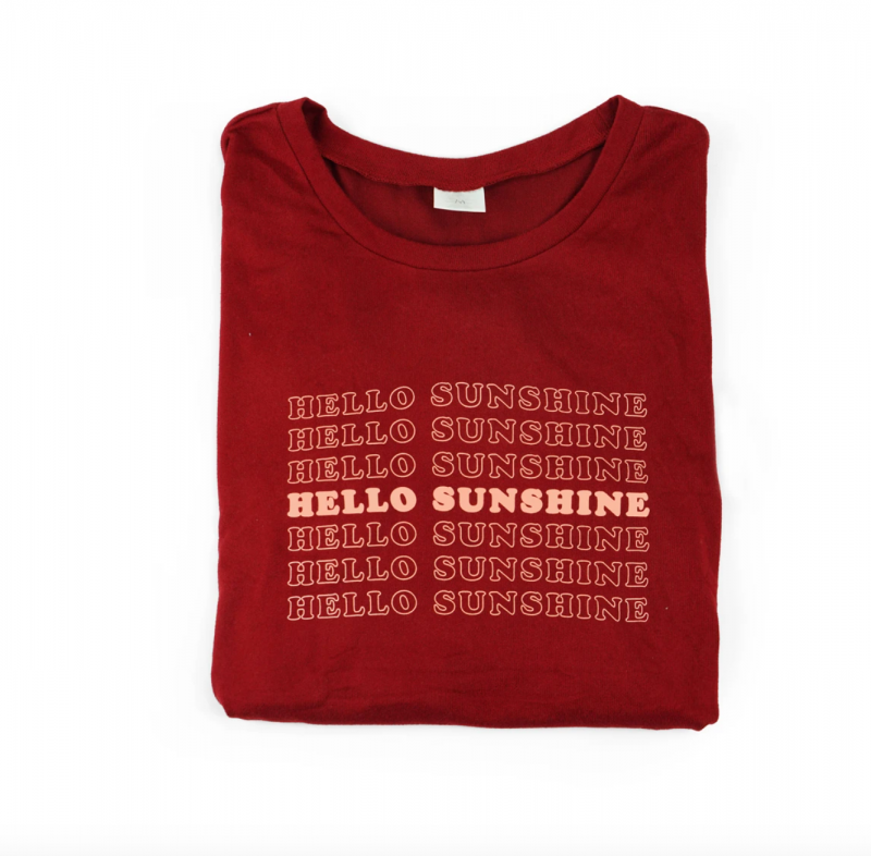 Lounge Sweater - Hello Sunshine