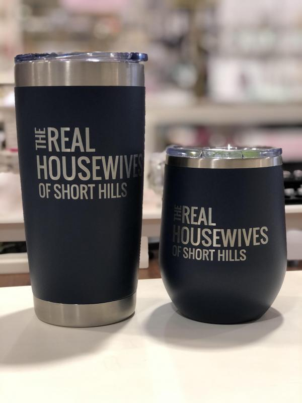 Real Housewives of Short Hills - 12/16 oz Tumbler Navy