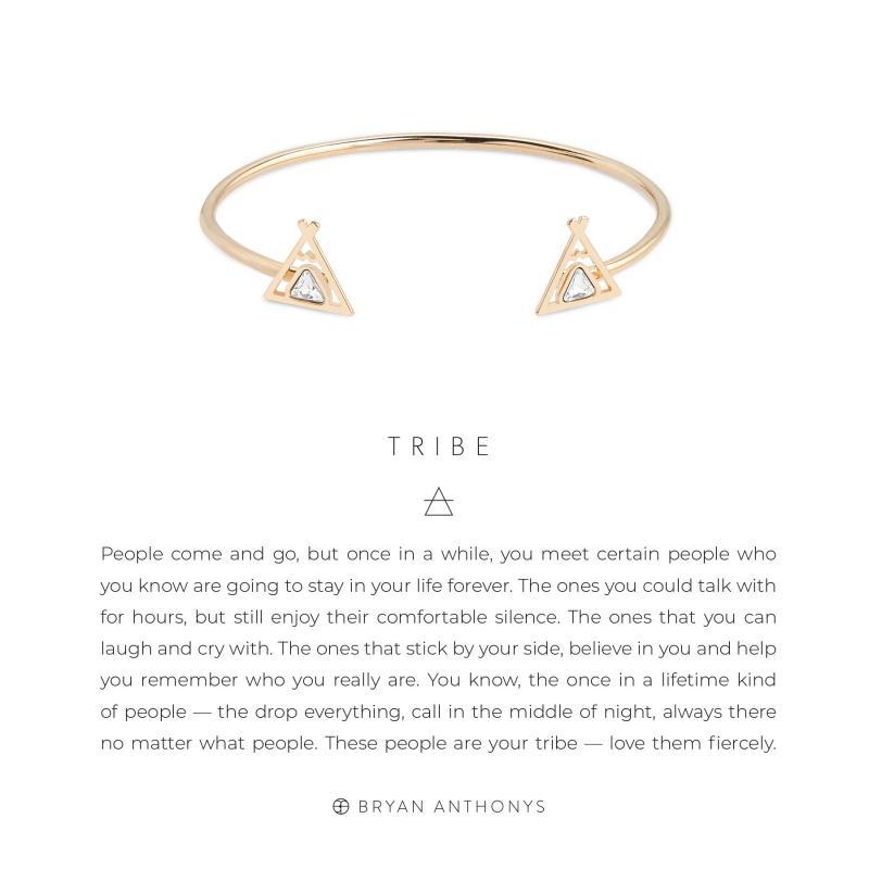 Bryan Anthonys Tribe Friendship Cuff (Gold)