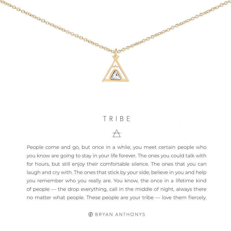 Bryan Anthonys Necklace - Tribe (Gold)