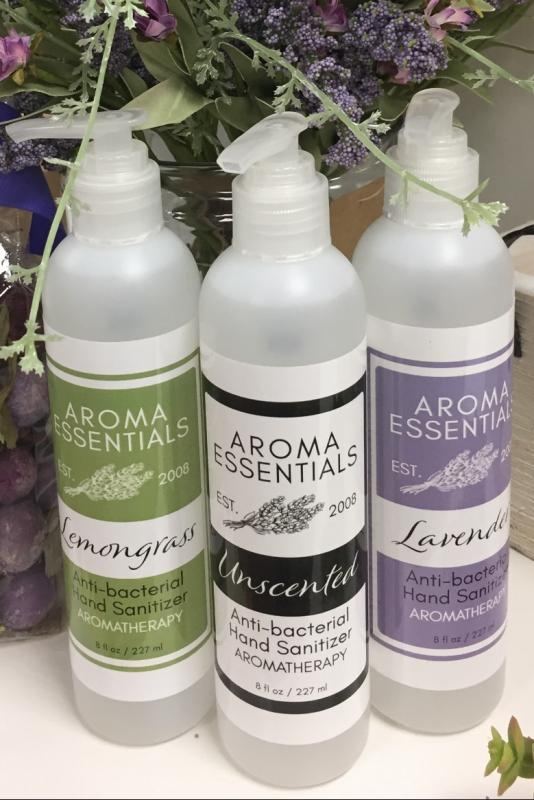 Aroma Essentials Hand Sanitzer