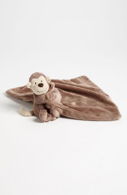Bashful Monkey Soother Blanket
