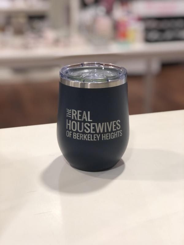 Real Housewives of Berkeley Heights - 12 oz Tumbler Navy
