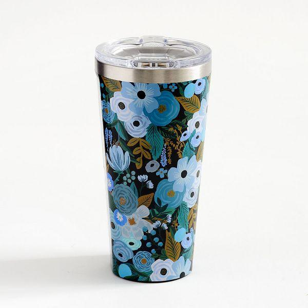 Blue Garden Tumbler