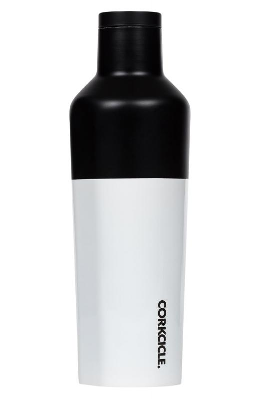Corkcicle Modern Black Steel Canteen