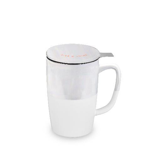 Delia Rise & Shine Tea Mug & Infuser
