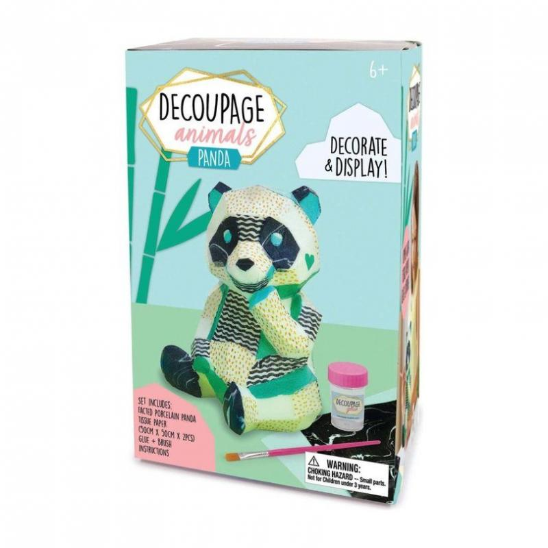 Decoupage Animals - Panda