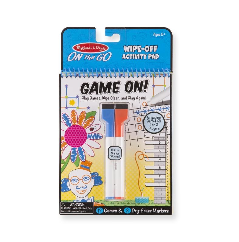 Game on! Reusable Games Activity Pad