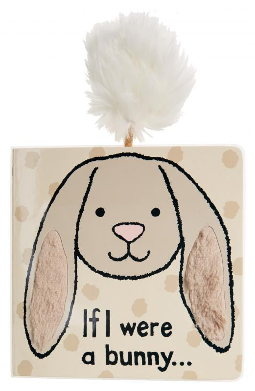 Grey 'If I Were a Bunny' Book