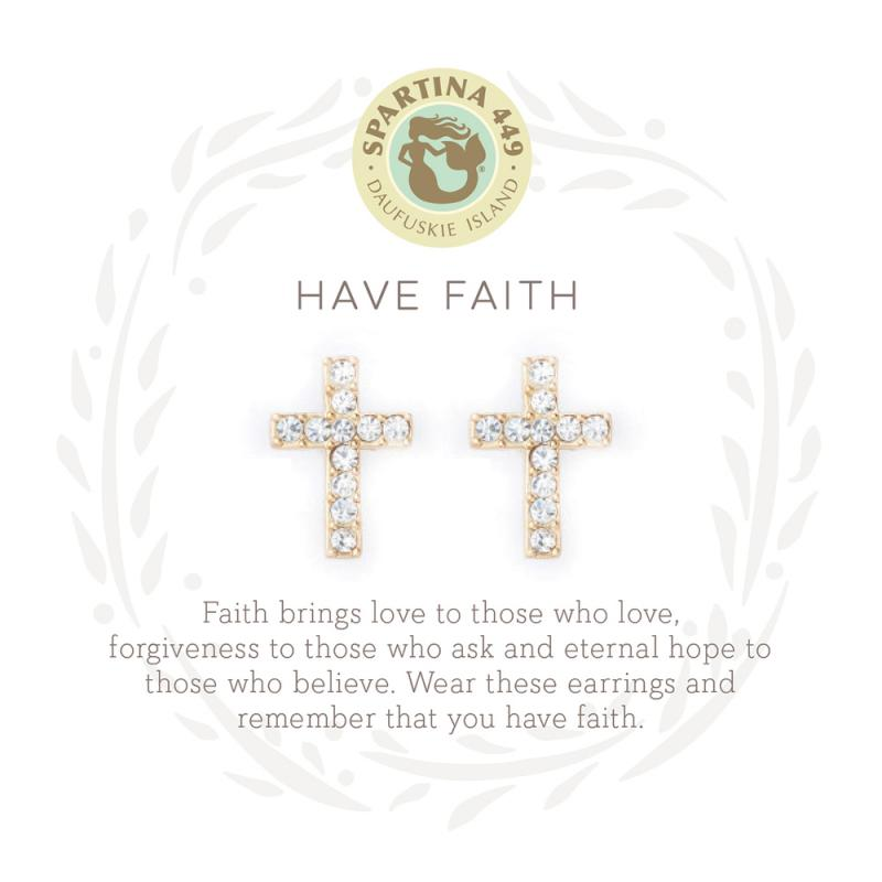 Have Faith Earrings