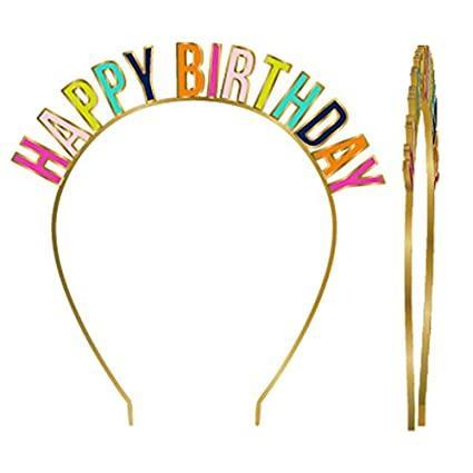 Happy Birthday Headband