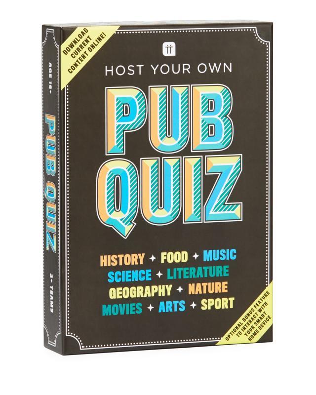 Host Your Own Pub Quiz Night Game