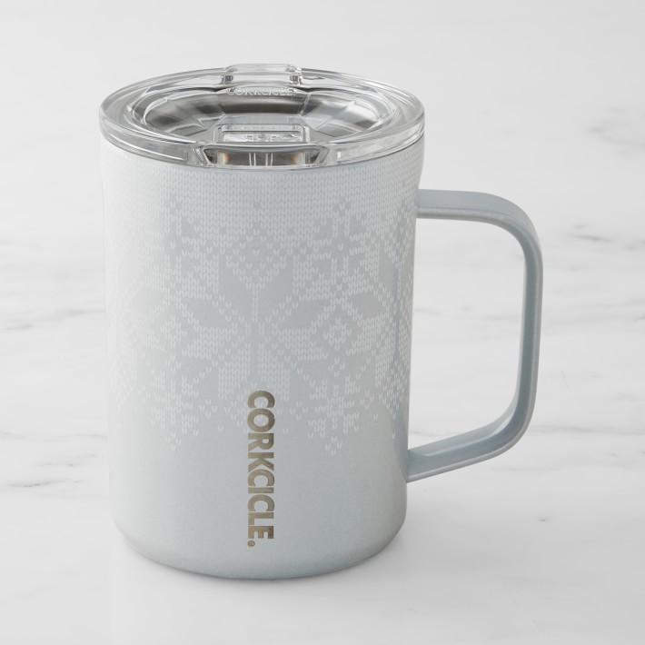 Corkcicle Mug 16 oz - Fairisle Grey