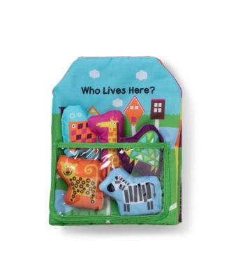 K's Kids Who Lives Here Soft Book