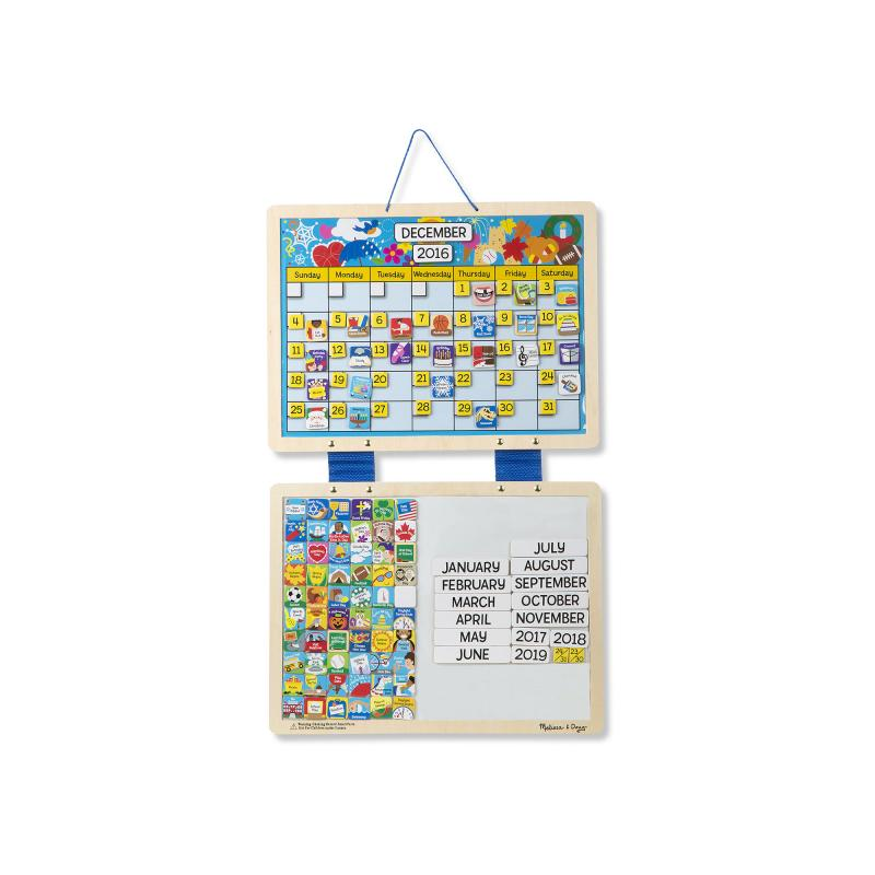 Kid's Monthly Magnetic Calendar
