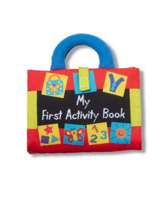 Kids Cloth 'My First Activity Book'