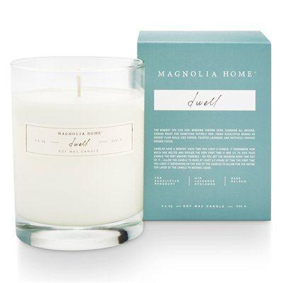 Magnolia Home Boxed Glass Candle - Dwell