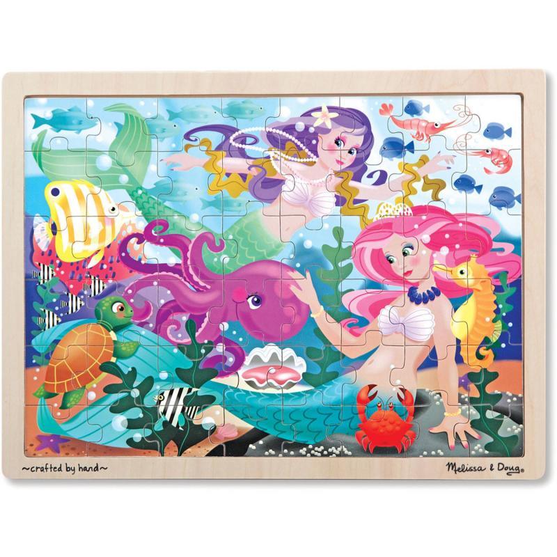 Mermaid Fantasea Wooden Jigsaw Puzzle