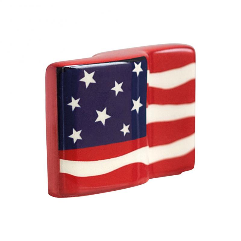 Nora Fleming Mini American Flag Platter Ornament