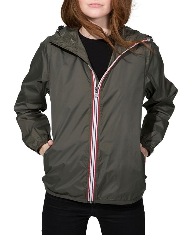Sloane Full-Zip Packable Rain Jacket