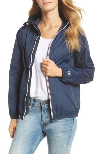 Sloane Full-Zip Packable Rain Jacket