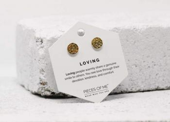 Pieces Of Me Earrings - Loving (Gold)