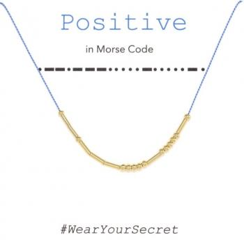 Wear Your Secret Morse Code Necklace - Sister