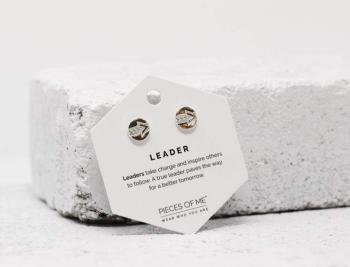 Pieces Of Me Earrings - Leader (Silver)