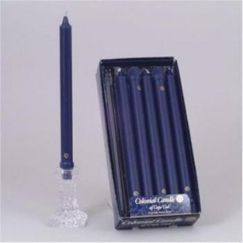 10 Inch Indigo Blue Classic Candles