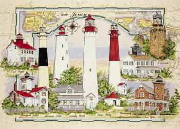 Lighthouses of New Jersey Puzzle