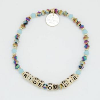 Little Words Project Bracelet - Ride or Die (Gold)