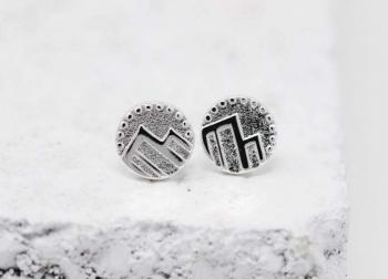 Pieces Of Me Earrings - Adventurous (Silver)