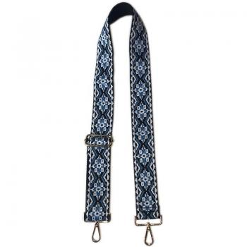 Embroidered Bag Strap - Assorted Colors
